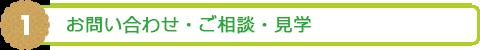 1. お問い合わせ・ご相談・見学